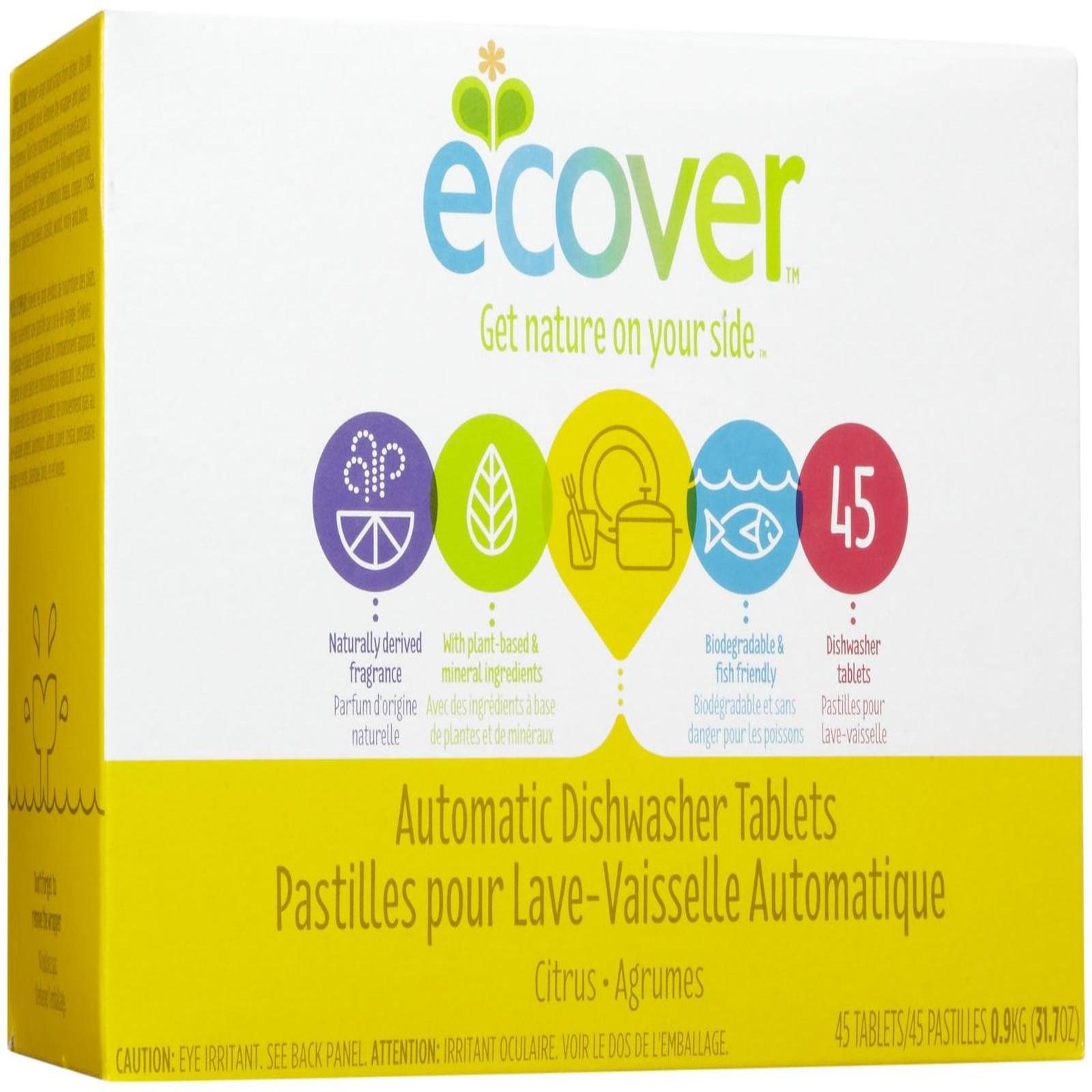 Таблетки для посудомоечных машин Ecover