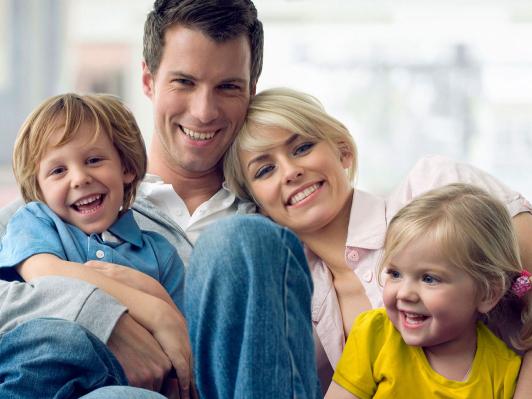 Здоровье детей - счастливая семья
