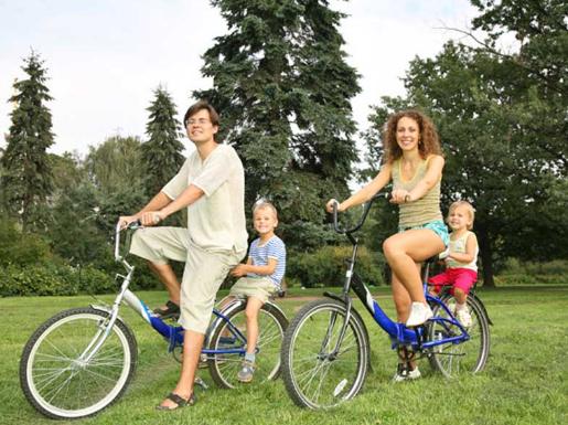 Здоровье детей - отдых с родителями