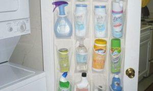 Как поддерживать порядок в доме хранение моющих средств