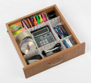 Как поддерживать порядок в доме разделители для ящика